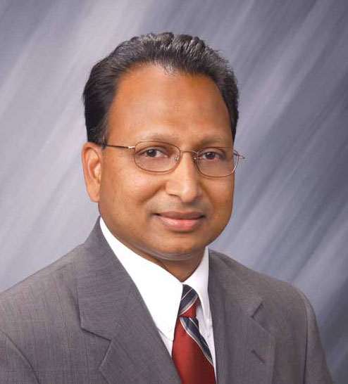 Rajan Rajendran, vice president of systems innovation center and sustainability at Emerson Commercial and Residential Solutions.