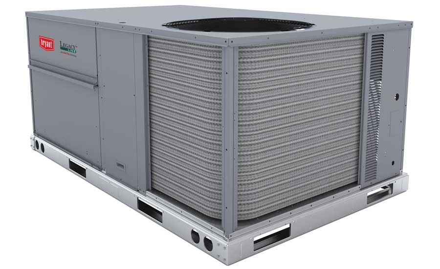 Bryant Heating & Cooling Systems Legacy Series single packaged rooftop units