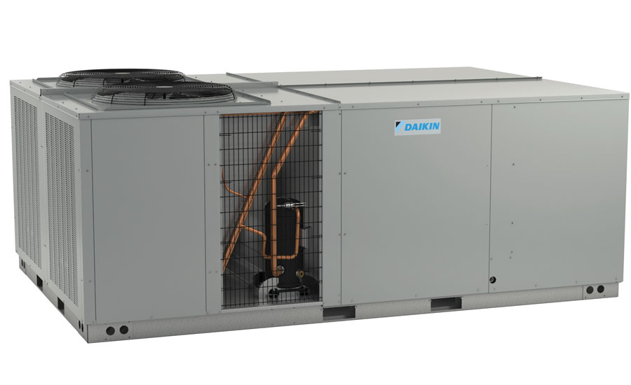 Daikin Commercial Unitary DCG 15- to 25-ton rooftops with FIOP hinged access panels