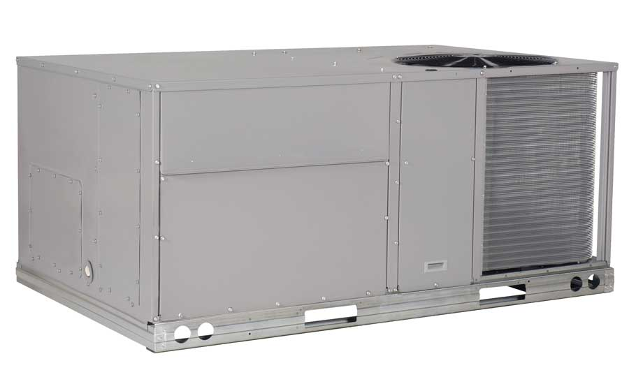 ICP Commercial Packaged rooftop with X-Vane fan, RGW Series