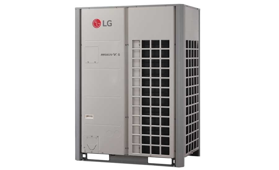 LG Air Conditioning Technologies Multi V 5 with LGRED heat recovery/heat pump outdoor unit