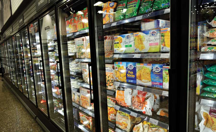 Supermarket Refrigeration Case