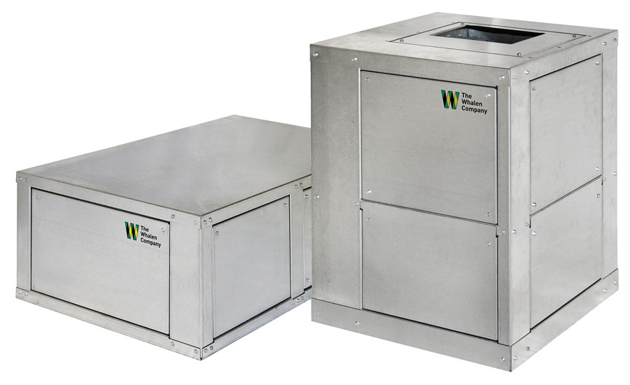 The Whalen Co. Closetline packaged water-source heat pump