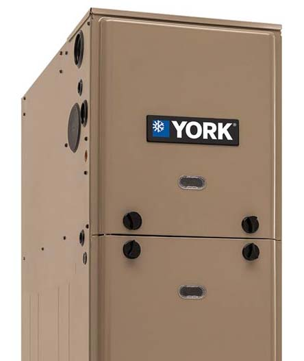 YORK LX Series TL9E Ultra-Low NOx Gas Furnace.