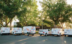 Fox HVAC Service Vehicle Fleet.