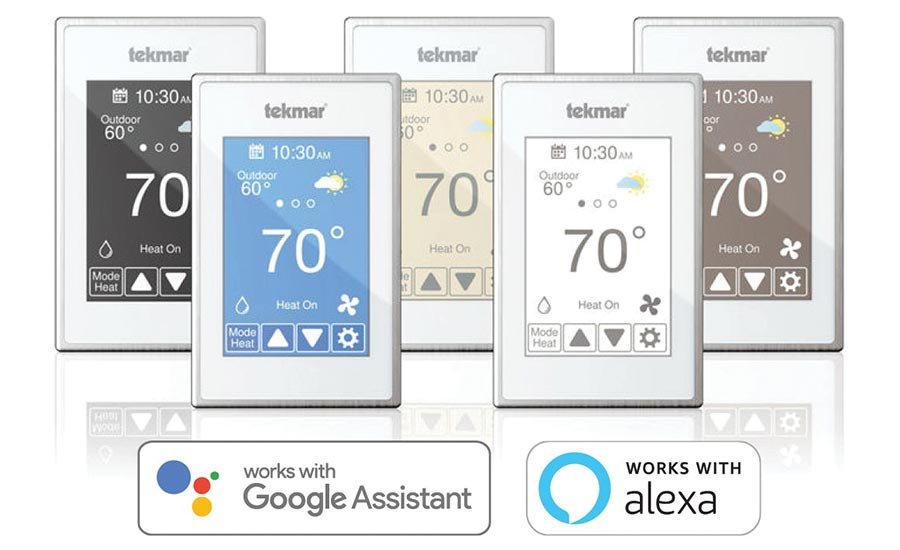 Voice-control-thermostat