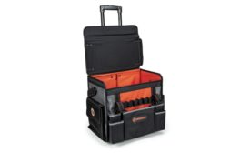 Crescent Tools' Tradesman Rolling Tool Bag.