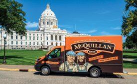 McQuillan Brothers van.