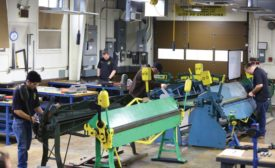 The sheet metal business.