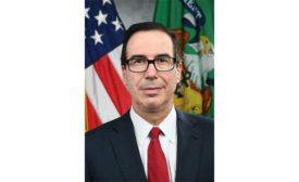 Secretary of the Treasury Steven Mnuchin.