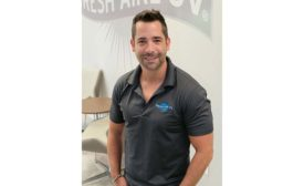 Aaron Engel, vice president of business development for Fresh-Aire UV.