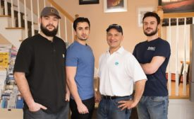 Restivo's Heating and Air Conditioning staff.