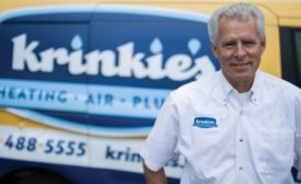 Bruce Krinkie, owner and leader of Krinkie's Heating, Air Conditioning, and Plumbing of St. Paul, Minnesota.