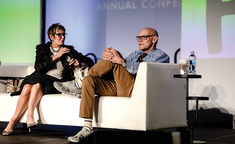 Mary Matalin and James Carville.