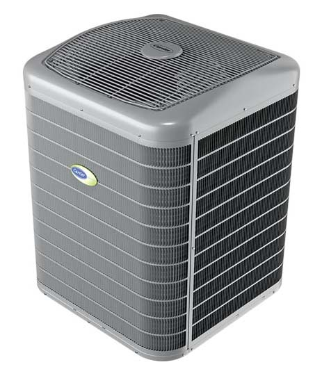 Infinity® 26 Air Conditioner and Infinity® 24 Heat Pump with Greenspeed® Intelligence.