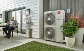 LG Multi V S heat pump.