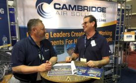 Cambridge technology platforms at AHR Expo 2020.