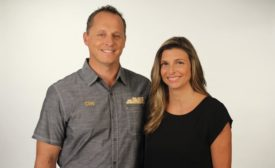 Clay and Jen Pierce, the owners of Clay's Climate Control.