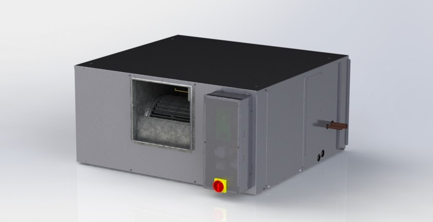 Panasonic's ducted VRF air handling unit.