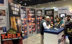 Shurtape's AHR Expo 2020 booth.