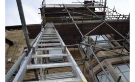 Ladders are the biggest cause of workplace accidents for HVAC technicians.