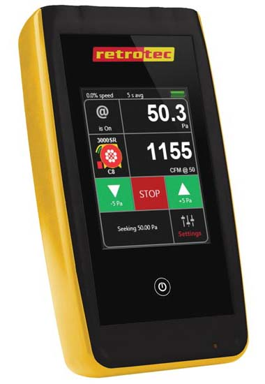 Digital Touchscreen Manometer.