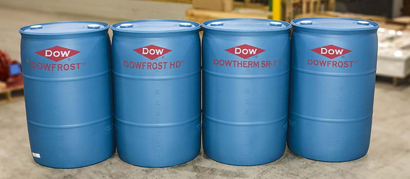 DOWFROST containers.