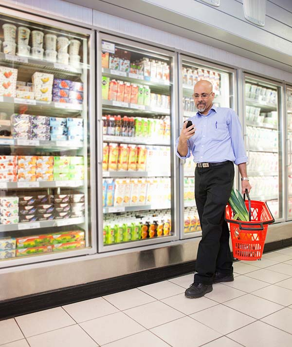 Grocers Add Refrigeration Load in Response to Pandemic.