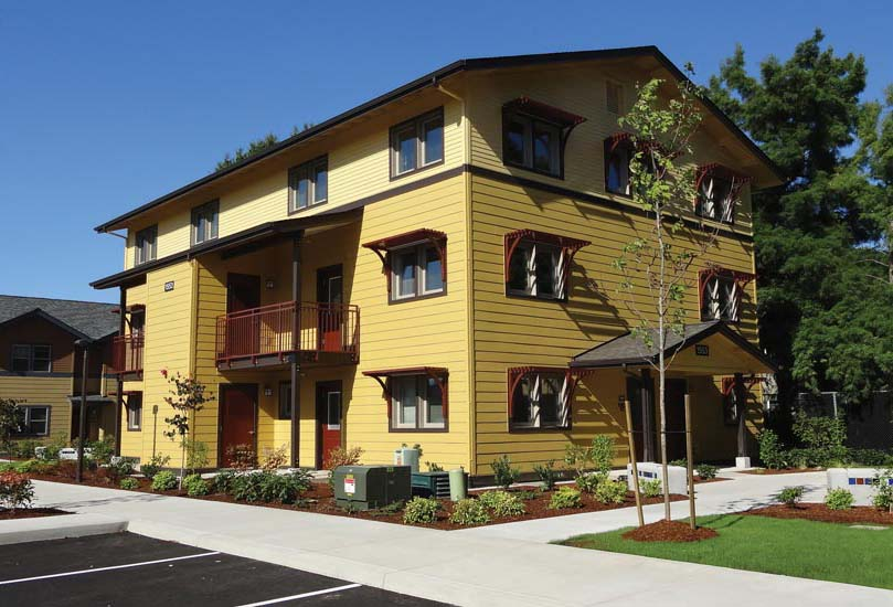 Multifamily Passive House.