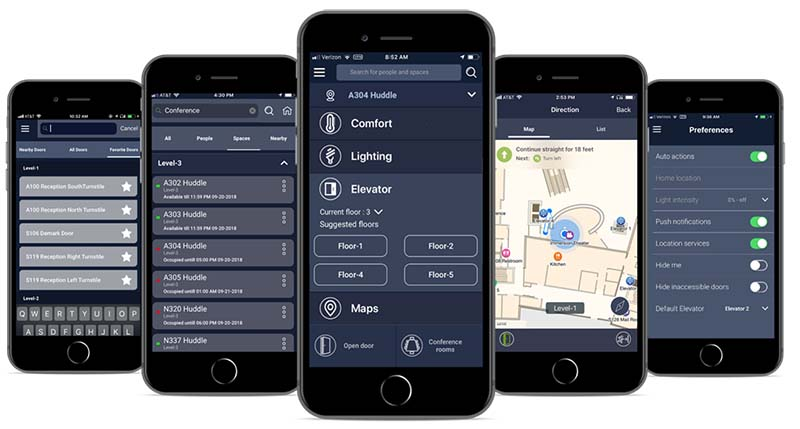 MyWay Building Automation App.