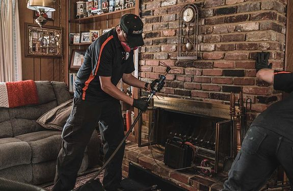 TN Fireplace & Chimney sweeps prepare for annual cleaning.