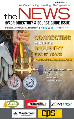 2021 HVACR Directory and Source Guide.