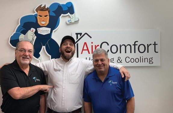 Air Comfort Heating and Cooling.