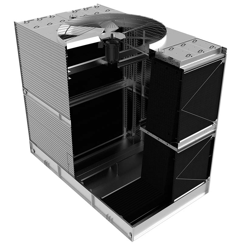 The BAC Series 3000 cooling tower with Enduradrive Fan System.