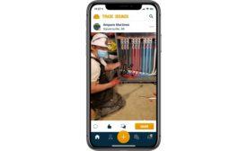The Trade Hounds app.