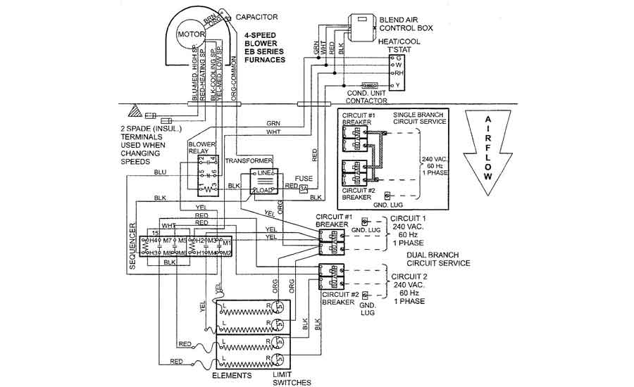 Troubleshooting Puzzle An Electric, Electric Furnace Wiring Diagram
