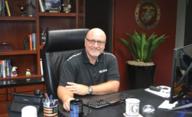 Greg McAfee, owner of McAfee Heating and Air Conditioning.