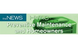 HVAC Preventive Maintenance and Homeowners Infographic.