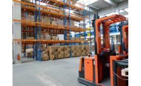HVAC Distributor Warehouse.