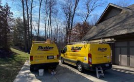 Trucks from Butler Heating and Air Conditioning.