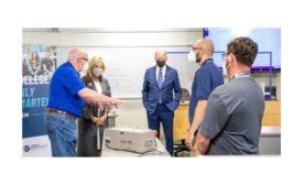 President Biden visits HVAC program.