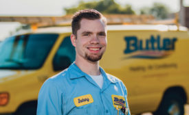 Tech of the Month: Zachary Grosh of Butler Heating and Air Conditioning.
