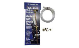 Duke's Oil Drain Tool.