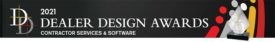 2021 Dealer Design Awards Contractor Services and Software.