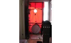 Blower door.