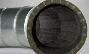Duct with insulation
