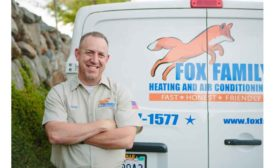 Greg Fox, co-owner of Fox Family Heating and Cooling.