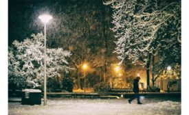 Winter weather.