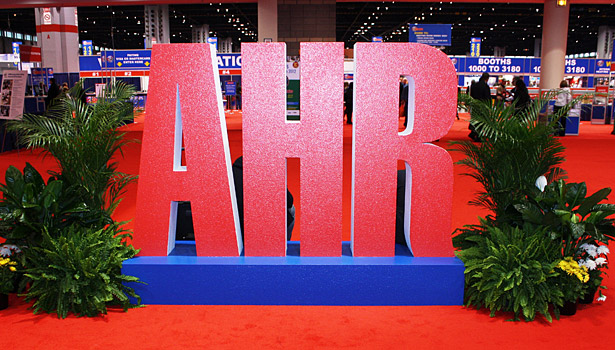 AHR Expo sign