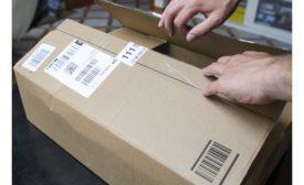 Amazon box opening